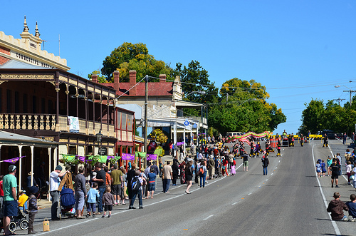 Beechworth Golden Horshoe Festival 16
