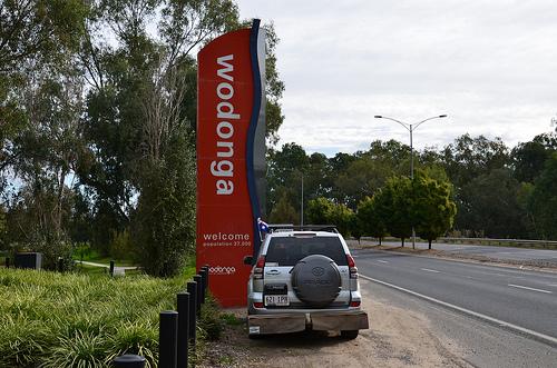 Wodonga-Albury Border