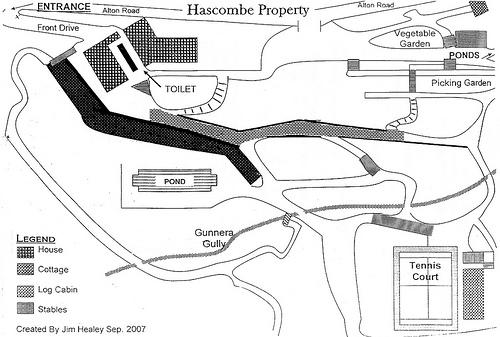 Hascombe Map