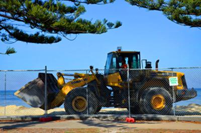 Altona Beach Renourishment 2018