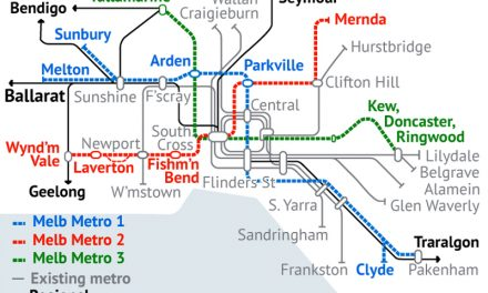 Melbourne Metro 2 – Rail Tunnel from Newport to the City