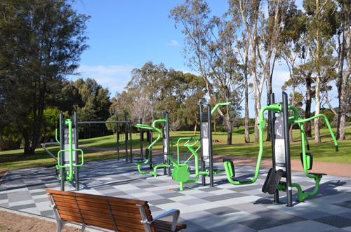 Cherry Lake Fitness Stations