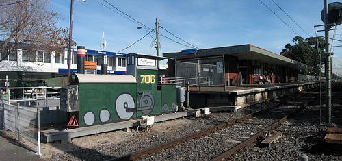 Altona Train Station A