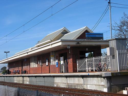 Westona Train Station