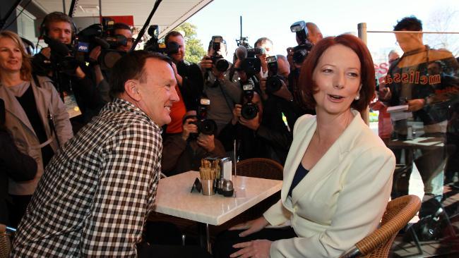 Photo of Julia Gillard from The Australian website
