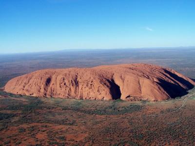 Ayers Rock (Uluru) und Olgas (Kata Tjuta) 07.-09.04.2007