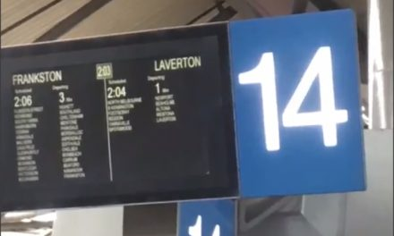 Laverton Train Line