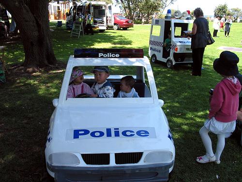 Miniature Police Car 1