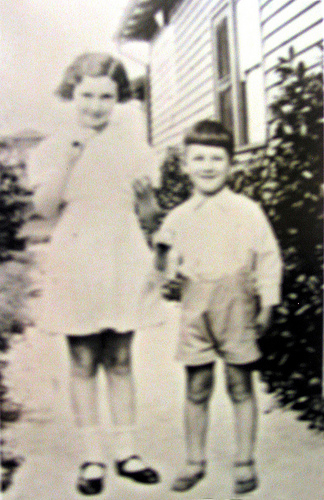 Estelle & Jack Joel at Original Altona Hospital 1935