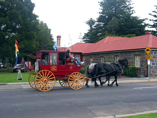 Horse Carriage Altona Homestead