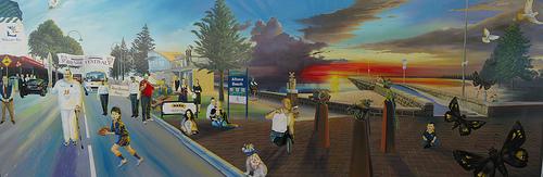 Pier St Mural Present A