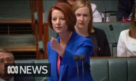 PM Julia Gillard's Speech on the Misogynist