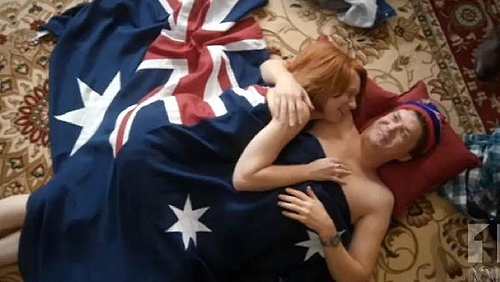 Julia Gillard Flag Sex Scene