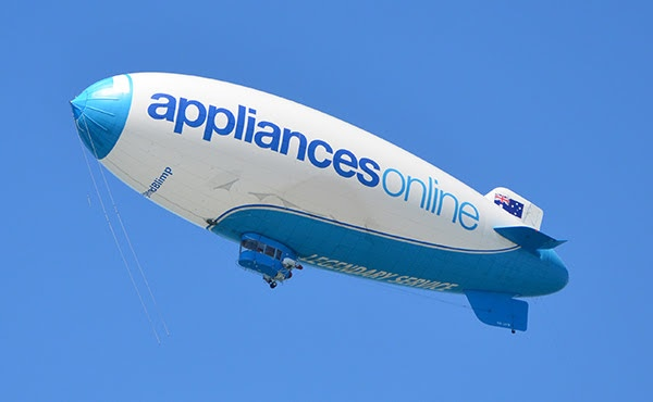 Legend Blimp Airship in Altona