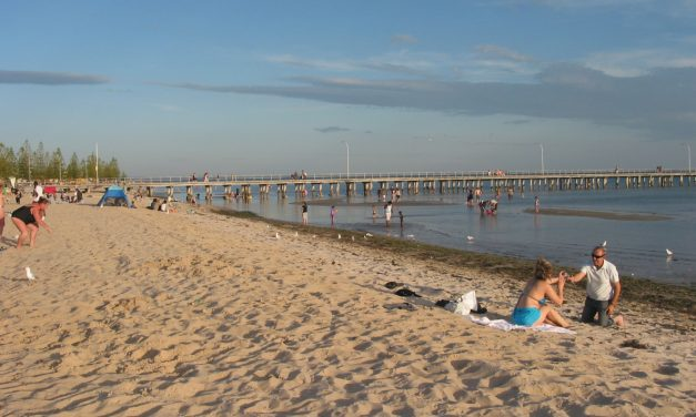 An Idyllic Day at Altona Beach